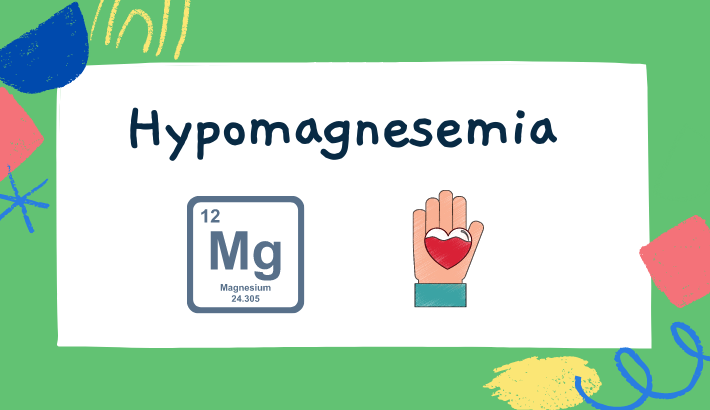Hypomagnesemia-magnesium deficiency