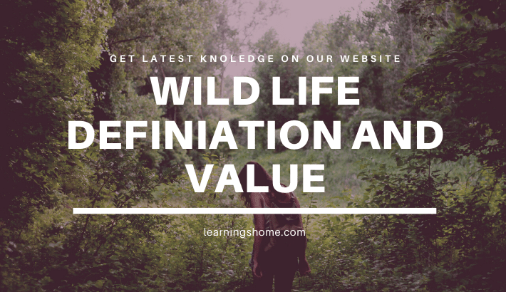 Wildlife generally refers to all species of mammals, birds, reptiles, amphibians and fishes occurring in the wild implying thereby undomesticated and free-roaming in a natural environment.