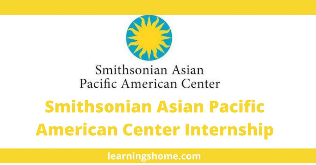 Smithsonian Asian Pacific American Center Internship