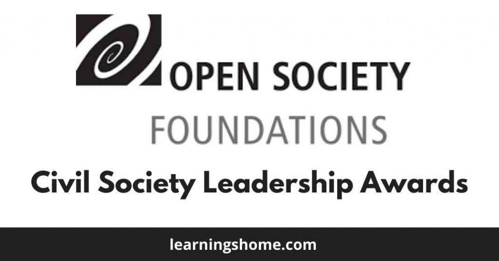 Civil Society Leadership Awards (CSLA) 2022