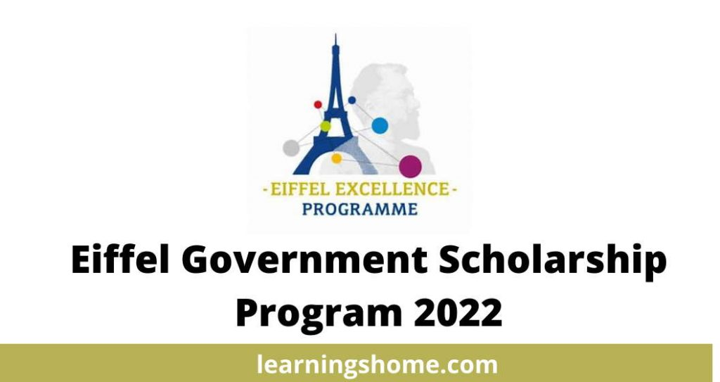 Eiffel Government Scholarship Program 2022