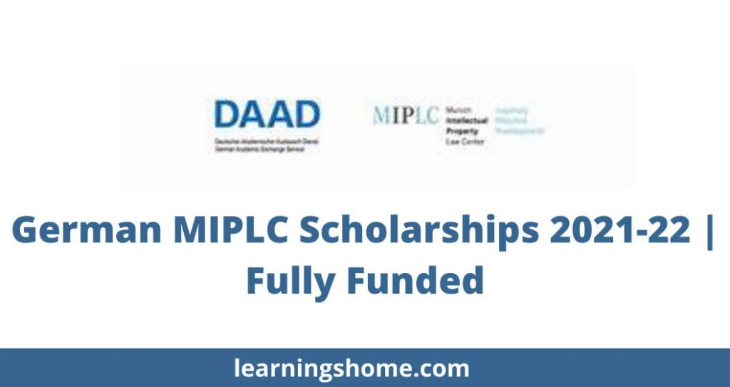 German MIPLC Scholarships 2021-22 | Fully Funded
