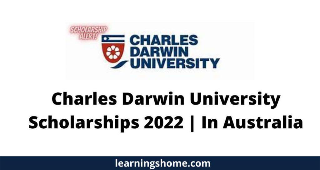 Charles Darwin University Scholarships 2022 | In Australia